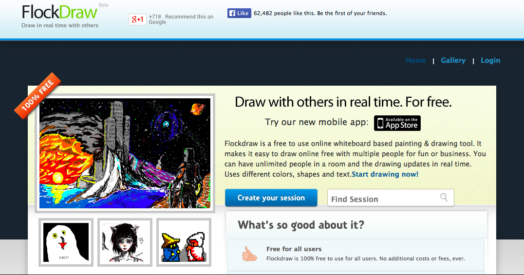 drawing websites free online