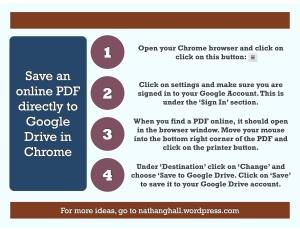 PDF to Google Drive