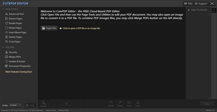 how to use cutepdf editor