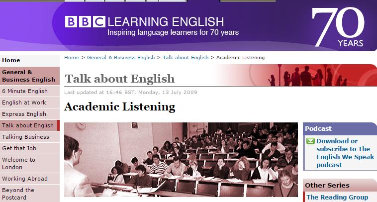 bbc academic